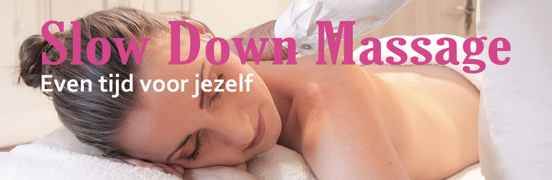 slow down massage hilversum